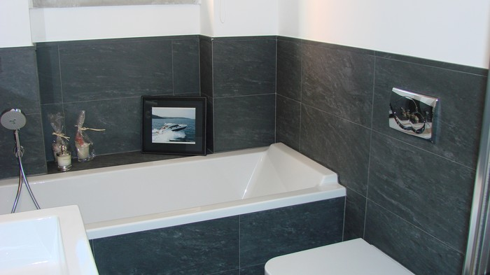 Rivestimenti Bagno In Pietra Ardesia : Bagno in ardesia design per la casa moderna tiltu