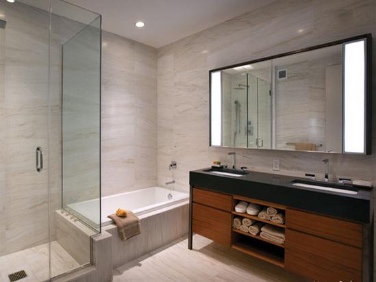 Da picasso marmi e travertini arezzo bagni in granito for Servizi da bagno moderni