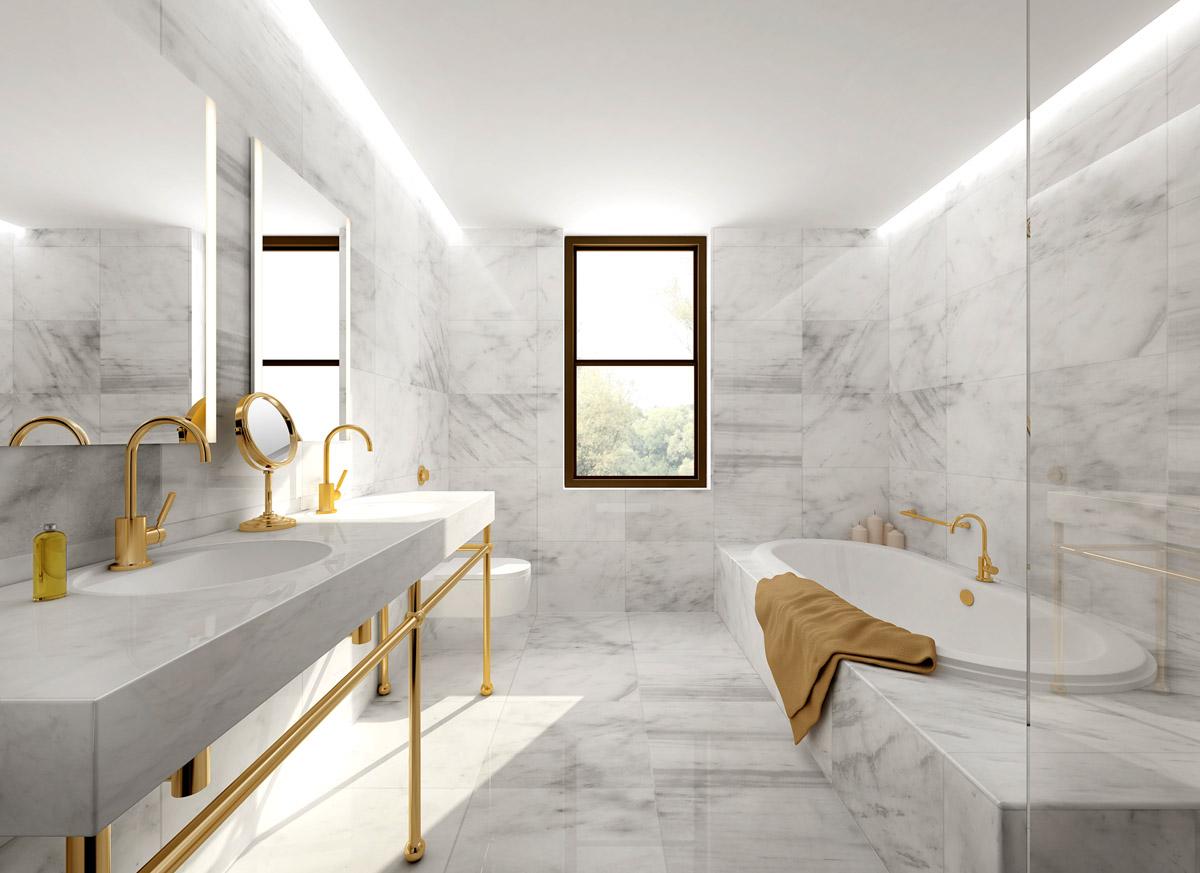 Bagni In Marmo Immagini : Bagno in marmo rosa lagorai pietre