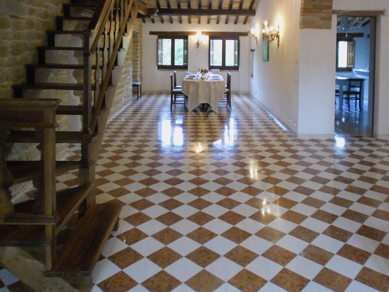 Pavimento Rosso E Bianco : Da picasso marmi e travertini arezzo pavimenti in marmo
